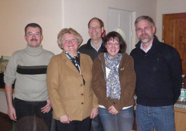 Der Vorstand von St. Medardus Zülpich: Dirk Schneider, Astrid Sonntag, Dr. Heiner Bouten, Ursula Weber, Karl-Heinz Hahs (v. l.) Foto: privat