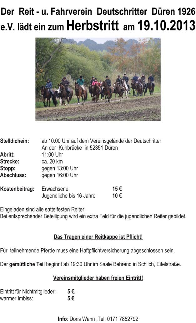 WEB Einladung Herbstritt 2013 endgültige Fassung